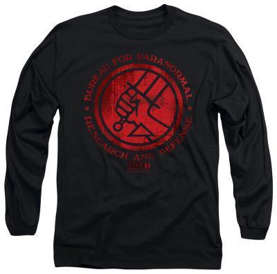Long Sleeve: Hellboy II - BPRD Logo