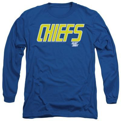 Long Sleeve: Slap Shot - Chiefs Logo