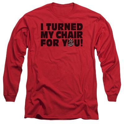 Long Sleeve: The Voice - Turned My Chair
