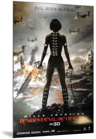 Resident Evil Retribution International Poster Prints