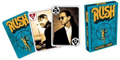 RUSH - Blue Playing Cards