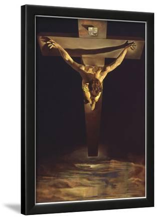 Dali Christ of St John of the Cross Art Print Poster