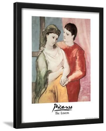 Pablo Picasso (The Lovers) Art Print Poster