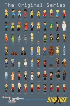 Star Trek- Pixels