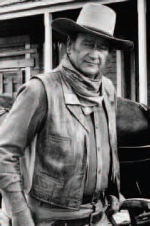John Wayne - B&W