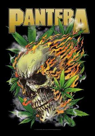 Pantera - Skull Leaf