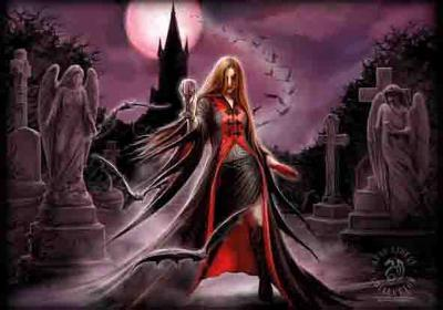 Anne Stokes - Blood Moon