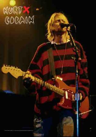 Kurt Cobain - Stage