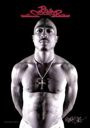 Tupac - B&W Photo