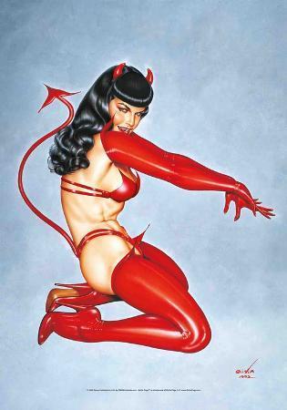 Bettie Page - Red Devil