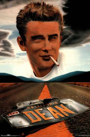 James Dean License Plate