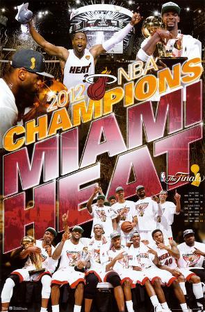 Miami Heat 2012 NBA Champions Celebration