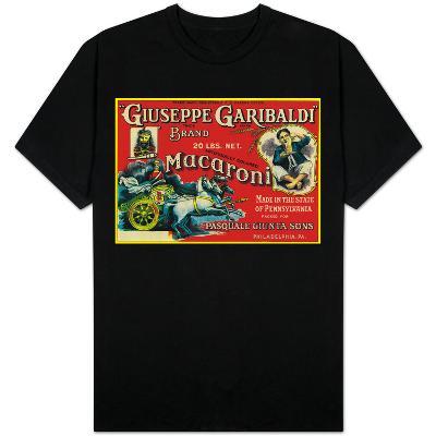 Giuseppe Garibaldi Macaroni Label - Philadelphia, PA