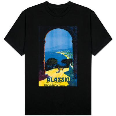 Alassio, Italy - West Italian Riviera Travel Poster - Alassio, Italy