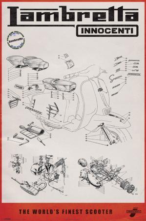Lambretta L #166CAA7