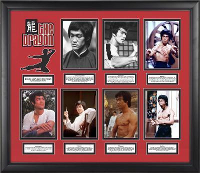 """Bruce Lee """"Affirmations"""" limited edition framed presentation"""