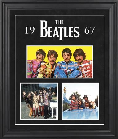 """The Beatles """"1967"""" framed presentation"""