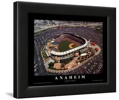 Anaheim: Edison Field, Angels Baseball, California
