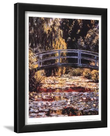 Claude Monet (Bridge at Giverny) Art Poster Print