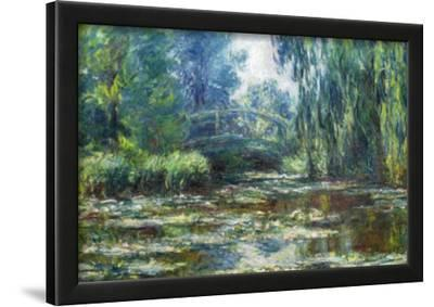 Claude Monet Water-Lilies in Monet's Garden Art Print Poster