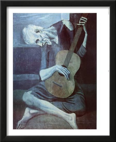 the guitarist picasso