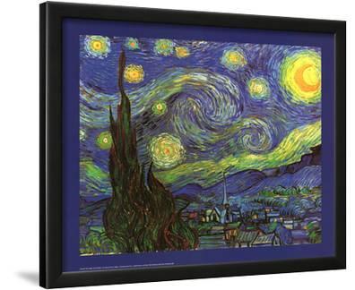 Vincent Van Gogh (Starry Night) Art Print Poster