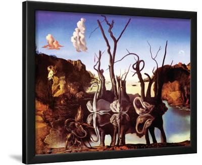 Dali - Reflection Of Elephants