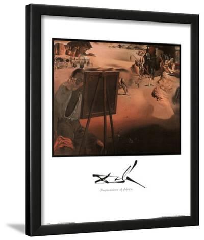 Salvador Dali Impressions Of Africa Art Print POSTER