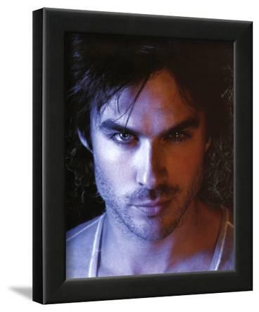 The Vampire Diaries Damon Ian Somerhalder TV Glossy Photo Photograph Print