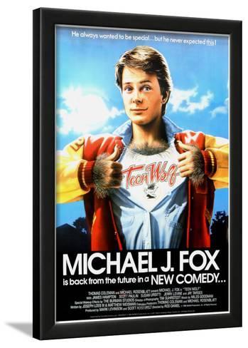 Teen Wolf movie poster print