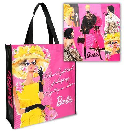 Barbie Large Recycled Shopper Tote