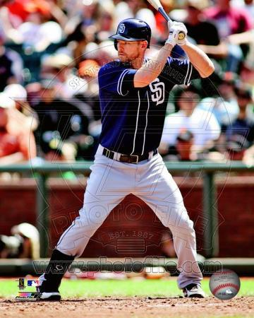 Chase Headley 2012 Action