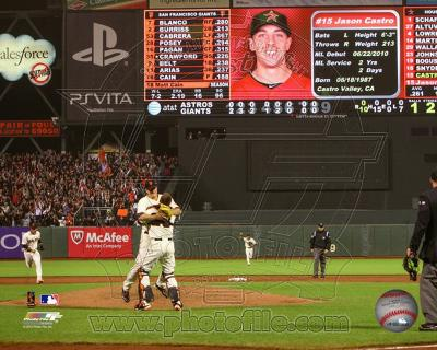 Matt Cain throws a Perfect Game AT&T Park June 13, 2012