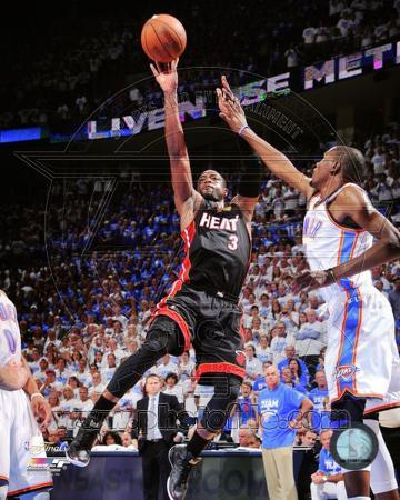 Dwyane Wade Game 2 of the 2012 NBA Finals Action