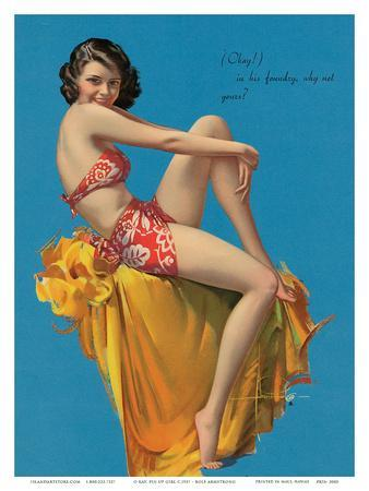 O Kay, Pin Up Girl c.1937