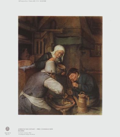 Two Farmers Enjoying a Meal