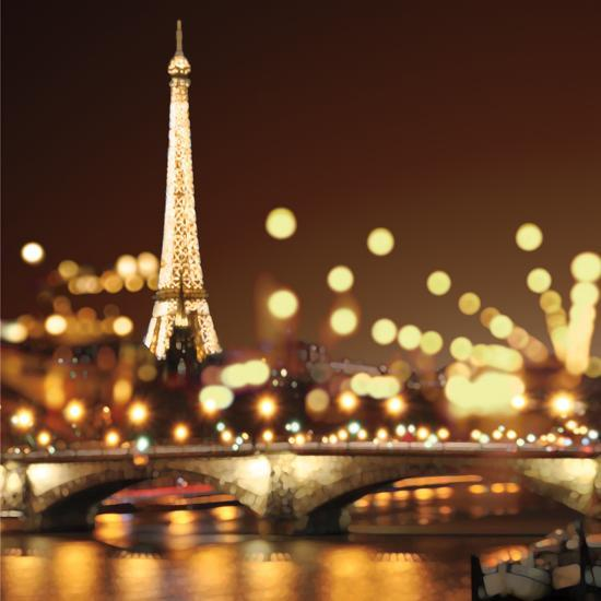 Paris The City Of Light: City Lights-Paris Poster By Kate Carrigan At AllPosters.com
