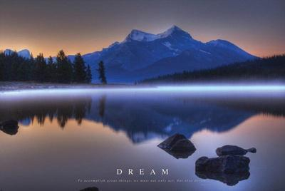 Dream - Mountains Landscape