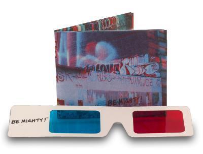 3D Graffiti Tyvek Mighty Wallet