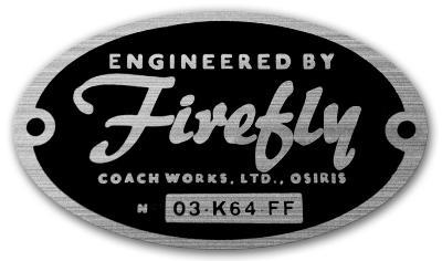 Engineered by Firefly Sticker