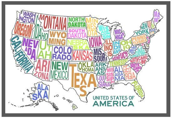 United States of America Stylized Text Map Colorful on missouri map, map of north carolina, map of the united states, mexico map, mississippi map, florida map, the world map, blank map, map of california, map of europe, map of canada, full size us map, arkansas map, the us map, europe map, canada map, texas map, map of usa, world map, us state map, caribbean map, east coast map, tennessee map, 13 colonies map, map of africa, map of us, map of florida, africa map, map of south america, nevada map, map of the world, map of america, great lakes map, map of ohio, map of georgia,