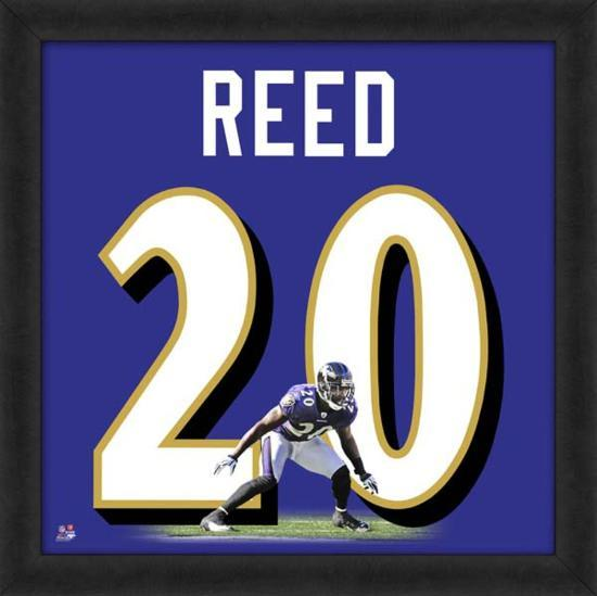 hot sale online 8354b d914f Ed Reed, Ravens representation of the player's jersey
