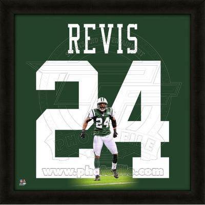 Darrelle Revis, Jets representation of the player's jersey