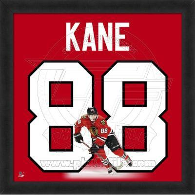 Patrick Kane, Blackhawks photographic representation of the player's jersey