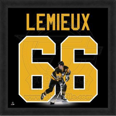 Mario Lemieux, Penguins photographic representation of the player's jersey