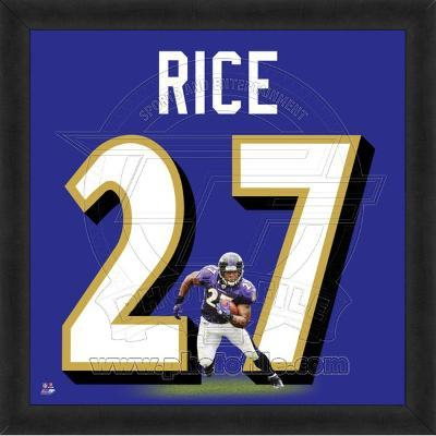 Ray Rice, Ravens photographic representation of the player's jersey