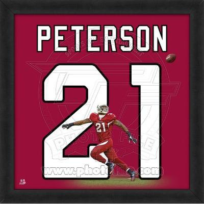 Patrick Peterson, Cardinals representation of the player's jersey
