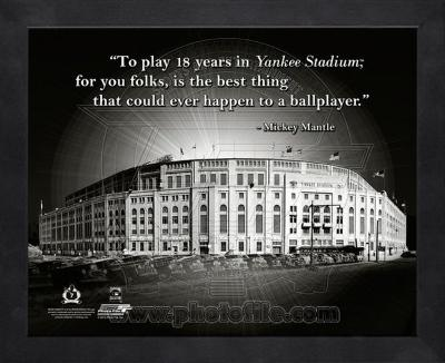 Yankee Stadium – Mickey Mantle ProQuote