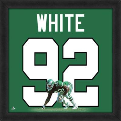 Reggie White, Eagles photographic representation of the player's jersey