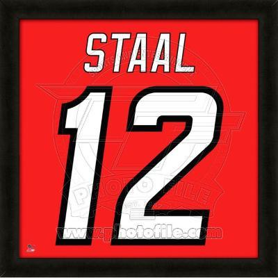Eric Staal, Hurricanes photographic representation of the player's jersey